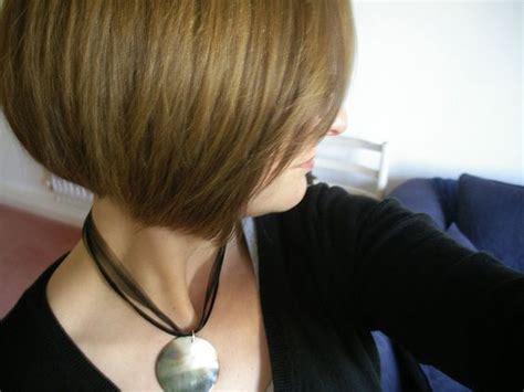 Concave Bob Back View Of Stacked Bob Haircut