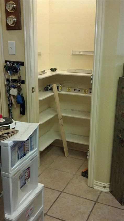 where can i find used kitchen cabinets pantry remodel pantry shelving ideas and shelves 2176