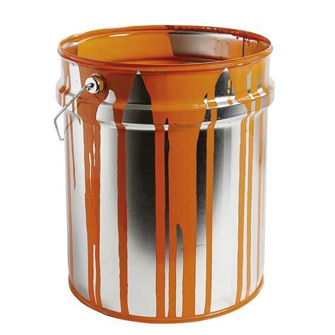 prix d un pot de peinture deko deko farbeimer 30 cm hoch orange dekoration bei dekowoerner