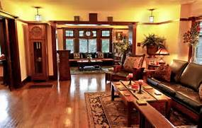 American Style Interior Representative American Craftsman Interior With Period Appropriate