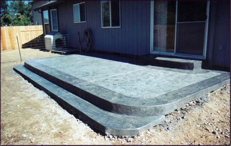 raised concrete patio cost add value to your home by creating raised patio ideas