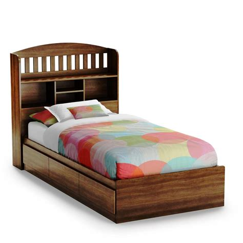 Colorful Twin Xl Bed Frame With Drawers Full Size