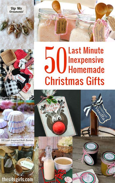 ultimate list  homemade christmas gifts