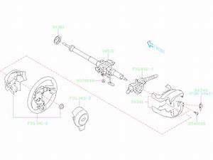 2019 Subaru Forester Steering Column