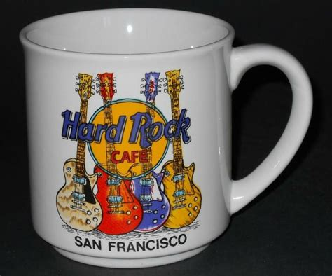 Opening at 10:00 am on wednesday. Hard Rock Cafe ~ San Francisco ~ Coffee Cup Mug ~ Save The ...