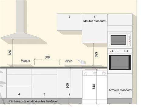 hauteur standard hotte de cuisine a quelle hauteur les meubles hauts ou à quelle hauteur la
