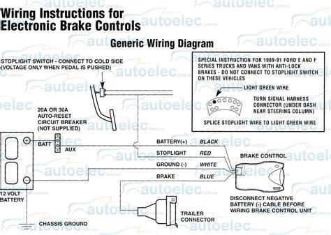 Electric Brake Controller Tekonsha Primus Wiring