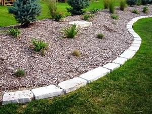 Simply, Stone, Edging, For, Landscaping, Ideas, Front, Yard, Border, Home, 25, Cool, Collection, Border