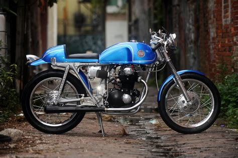 Honda Cb350 Café Racer By Team Scott Racing