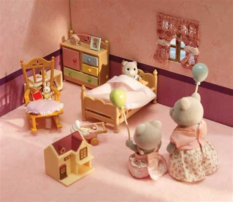 calico critters bedroom calico critters luxury townhome toys