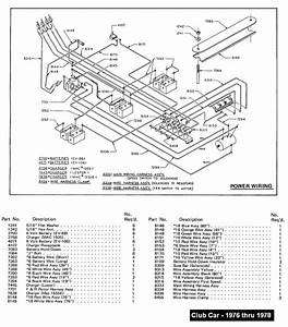 Diagrams Wiring   87 Club Car 36v Wiring Diagram