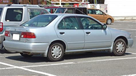File:Nissan Sunny 1997 rear.JPG - Wikimedia Commons