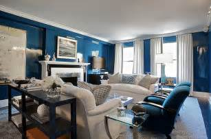 blue livingroom 20 modern navy blue living room designs