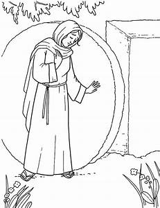 Empty Tomb Coloring Pages - AZ Coloring Pages