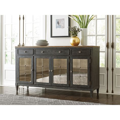 American Drew Sideboard by American Drew Ardennes Mariello 3 Drawer Sideboard With