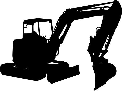 excavator silhouette png transparent onlygfxcom