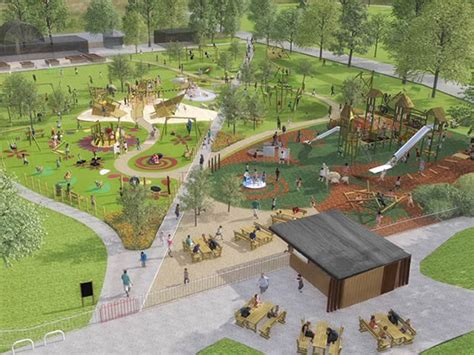cheltenham borough council unveils vision  pittville park gloucestershire children family