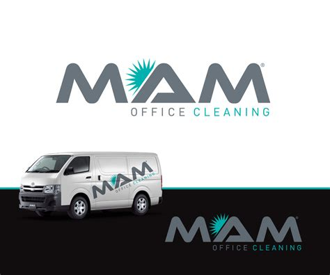 Elegant, Playful, Office Cleaning Logo Design For M.a.m Office Cleaning By Cestudio