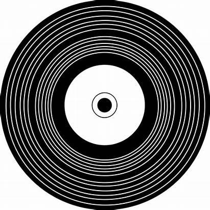 Record Vinyl Clipart Records Outline Clip Disque