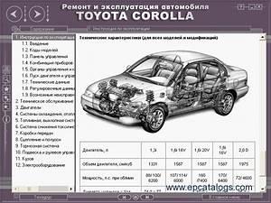 Toyota Manual  Corolla 1992