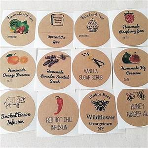 create your own stickers custom mason jar canning labels With how to make your own labels for jars