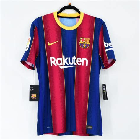 2020-21 Barcelona Home Match Shirt #10 MESSI La Liga ...