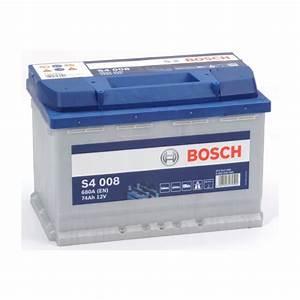Batterie Bosch S4008 : bosch s4008 74ah 680a ~ Farleysfitness.com Idées de Décoration