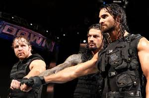 Dean Ambrose and Roman Reigns WWE