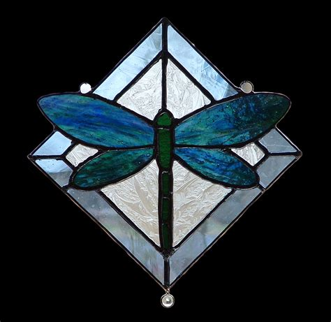 dragonfly stained glass l quot the dragonfly quot by mustard seed glass