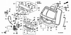 2005 Honda Odyssey Parts Diagram
