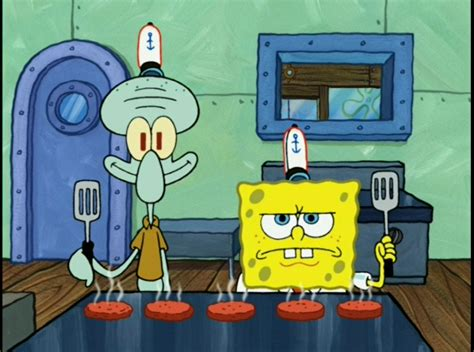 spongebob cuisine 24 struggles all fast food workers can relate to