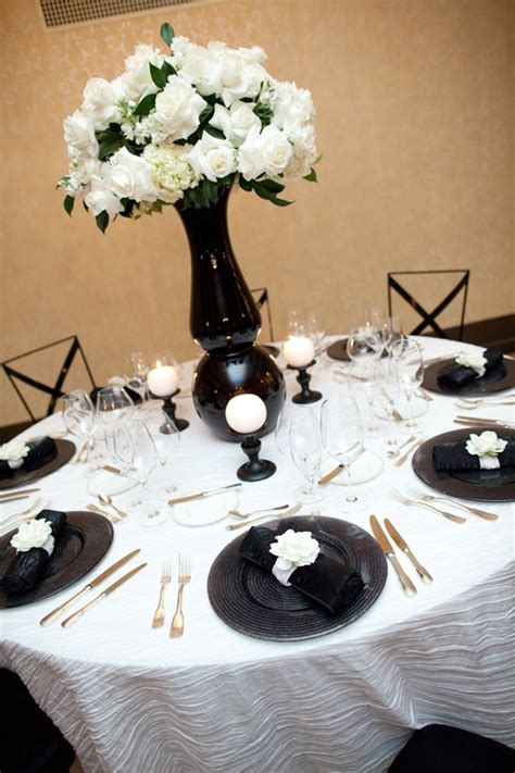 black and white table arrangements 349 best black white wedding flowers images on pinterest