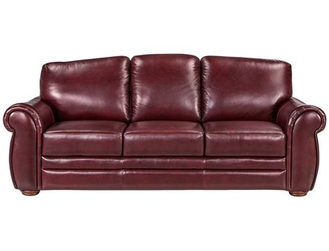 Who Makes Slumberland Sofas by Slumberland Gallery Collection Burgundy Sofa For My