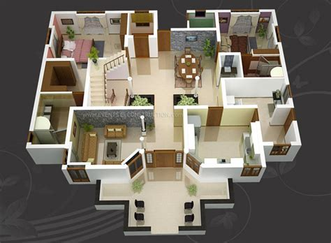 garage apartment plans 2 bedroom 3d house design model stylid homes