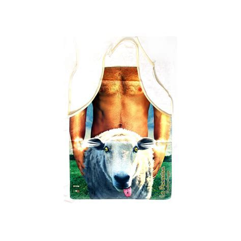 The Notorious Sheep Shagger Apron   Pink Cat Shop