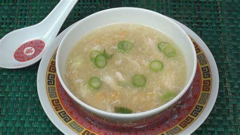 chinese chicken  sweetcorn soup
