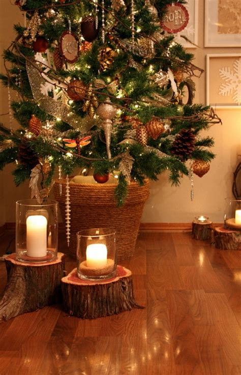 rustic christmas tree decorating ideas rustic christmas decorating ideas 2016 8591