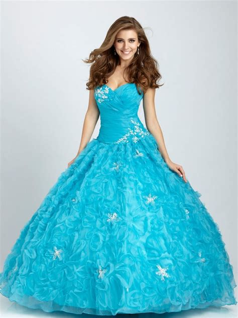 exotic choice  blue wedding dress dresscab