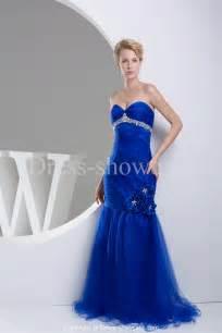 blue wedding gown royal blue mermaid sweetheart neckline wedding dress sang maestro