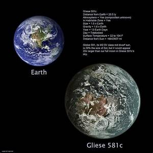 New Planet Discovered 2010 is like Earth - Gliese 581 ...