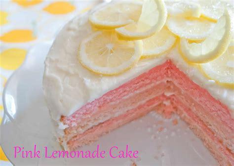 pink lemonade cake craftyc0rn3r pink lemonade cake and cupcakes