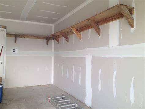 how to build shelves in my garage diy garage shelf plans home decorations