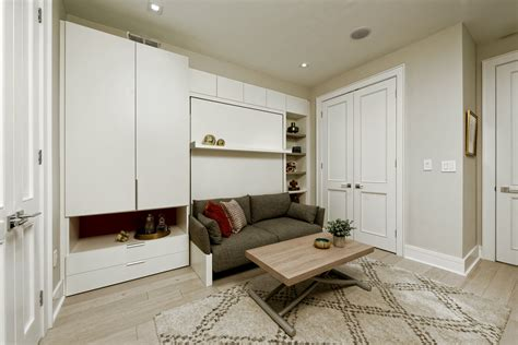 Modern Multi Functional Design Character by Transforming Two Georgetown Homes Resource Furniture