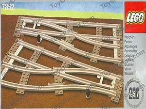 Lego 7852 Left And Right Points Manual Gray 4 5v Set Parts