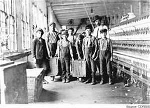 Economy/Living Conditions - The First American Industrial ...