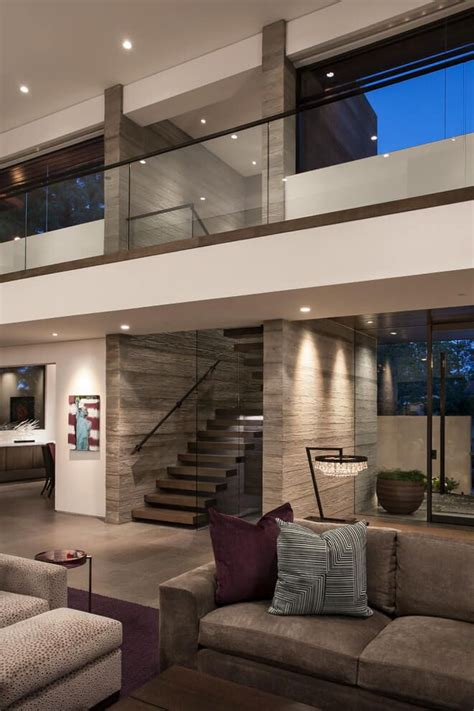 Fresh Modern House Interior Throughout Minimalist Mo #5899