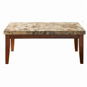 Steve silver company montibello brown coffee table mn700c for Montibello coffee table