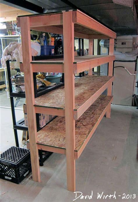 storage shelf   basement