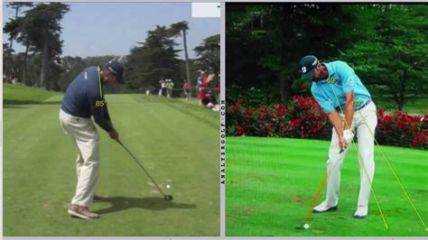 Golf Swing Analysis by Matt Kuchar Motion Golf Swing Analysis