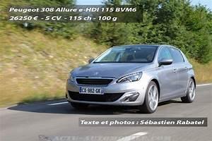 Actualit U00e9   Essai   Nouvelle Peugeot 308 E